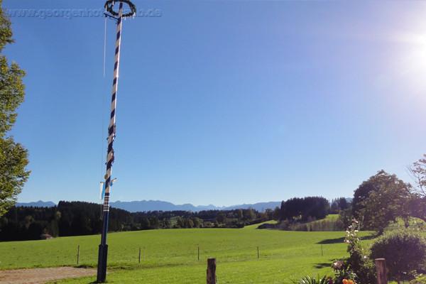 Ferienwohnung Oberbayern Bergblick Oberbayern