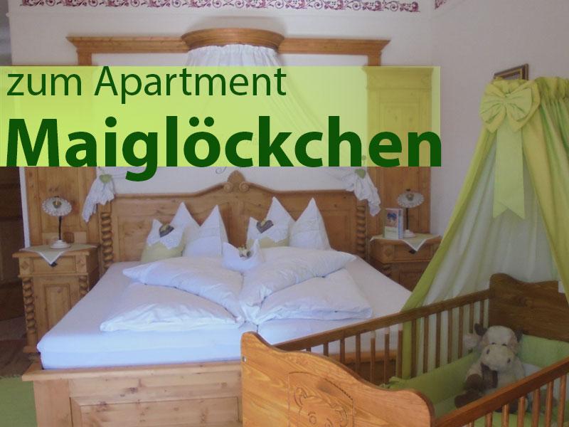 Apartment Maigloeckchen Georgenhof Huglfing