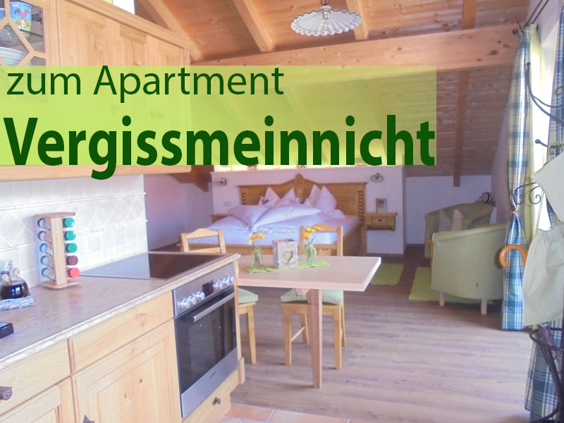 Apartment Vergissmeinnicht Georgenhof Huglfing